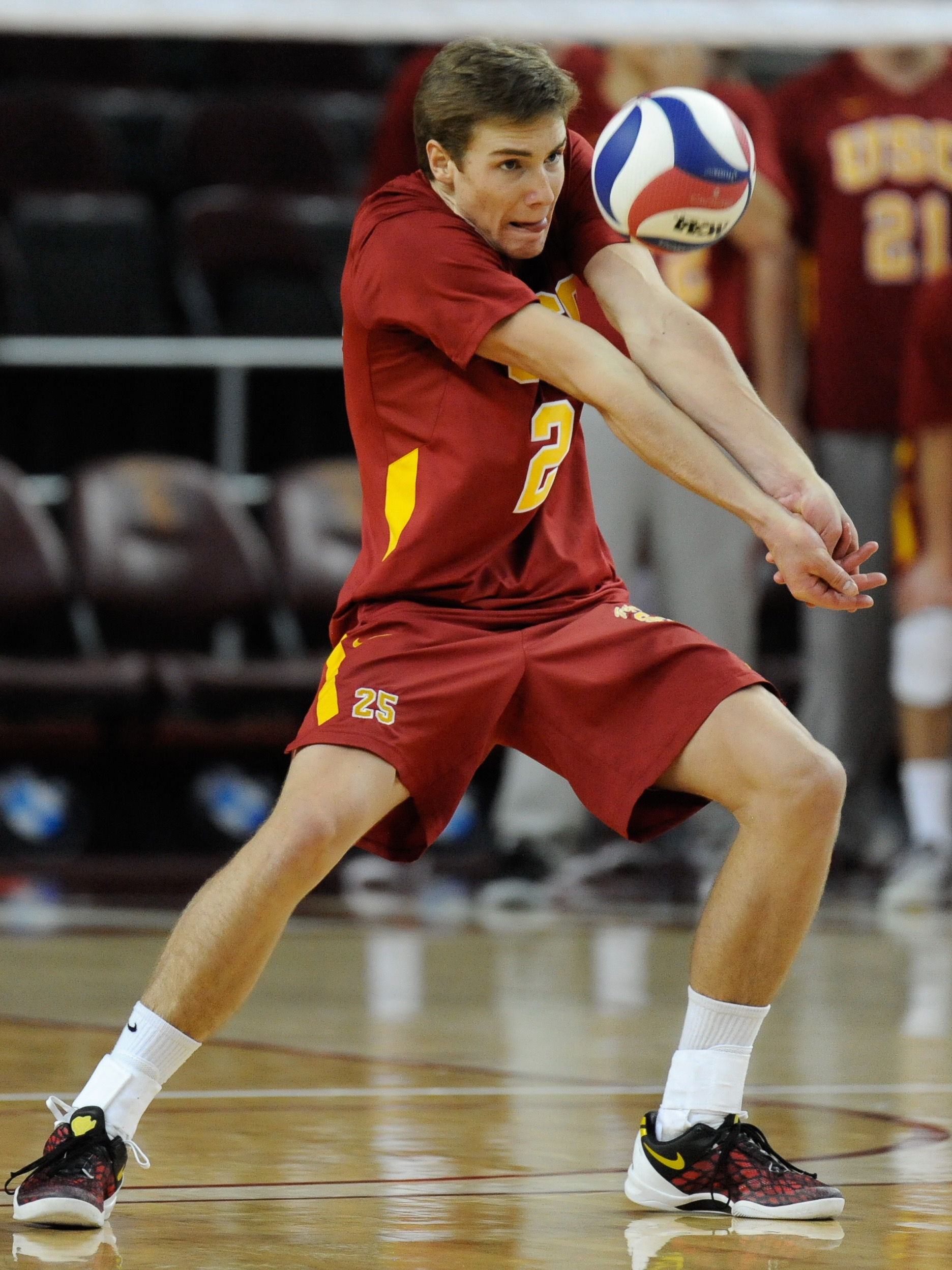 Lucas Yoder USC men's volleyball
