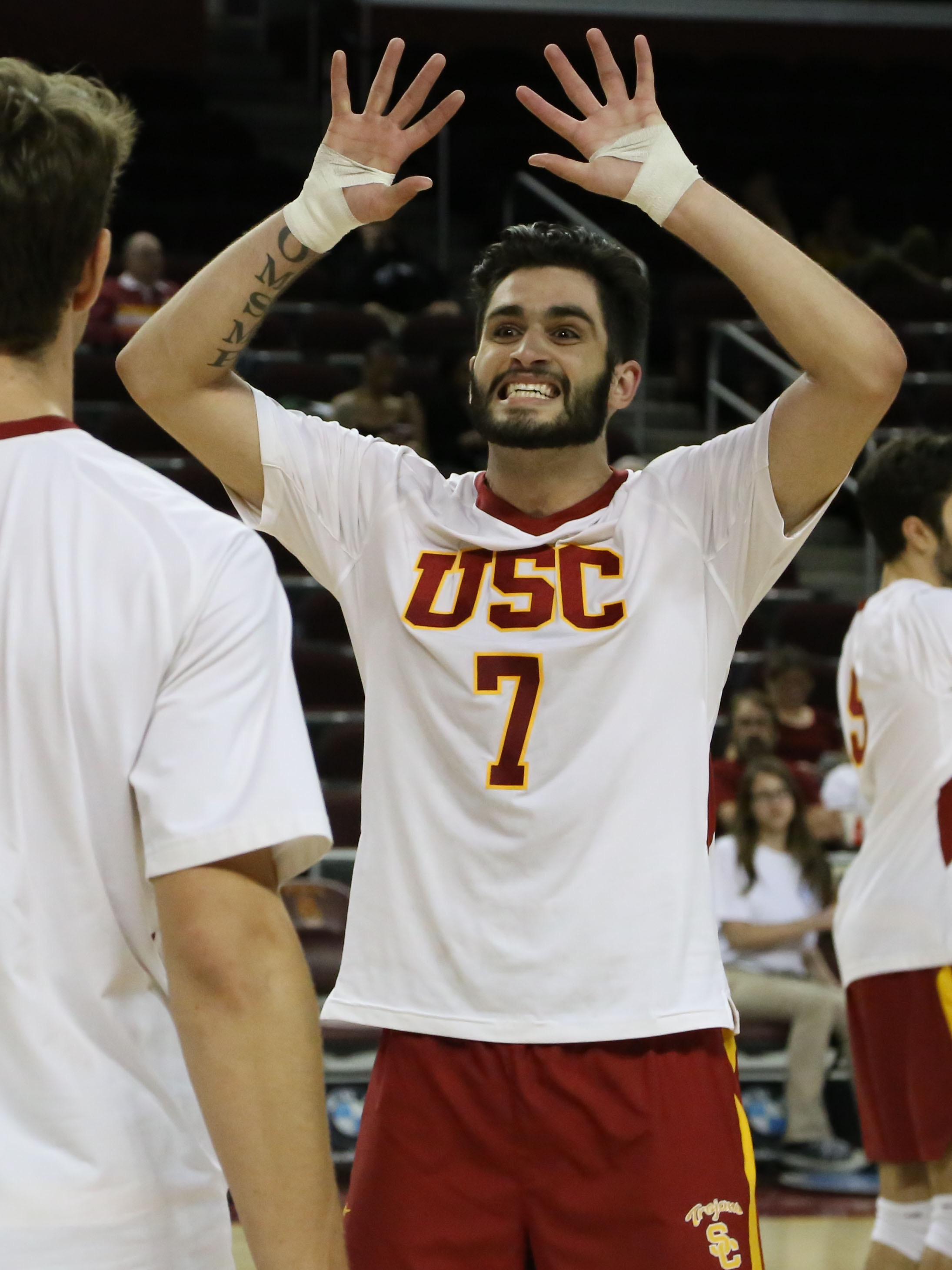 Gert Lisha USC Men's Volleyball