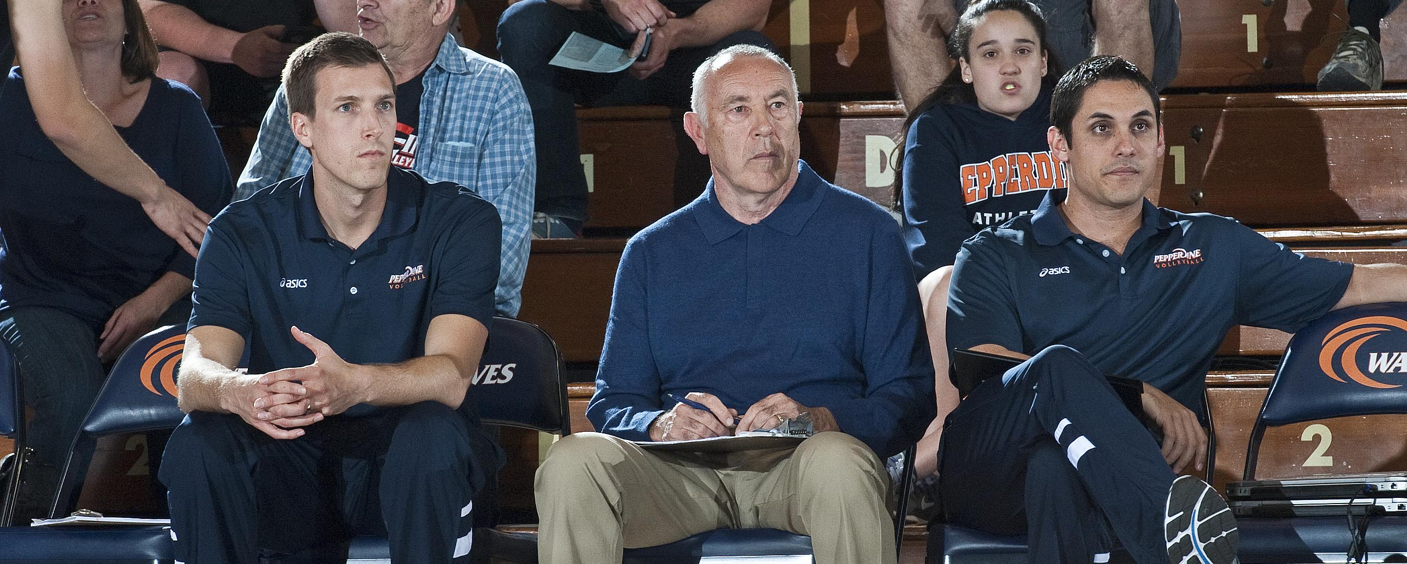Pepperdine Men's Volleyball Coaches Marv Dunphy
