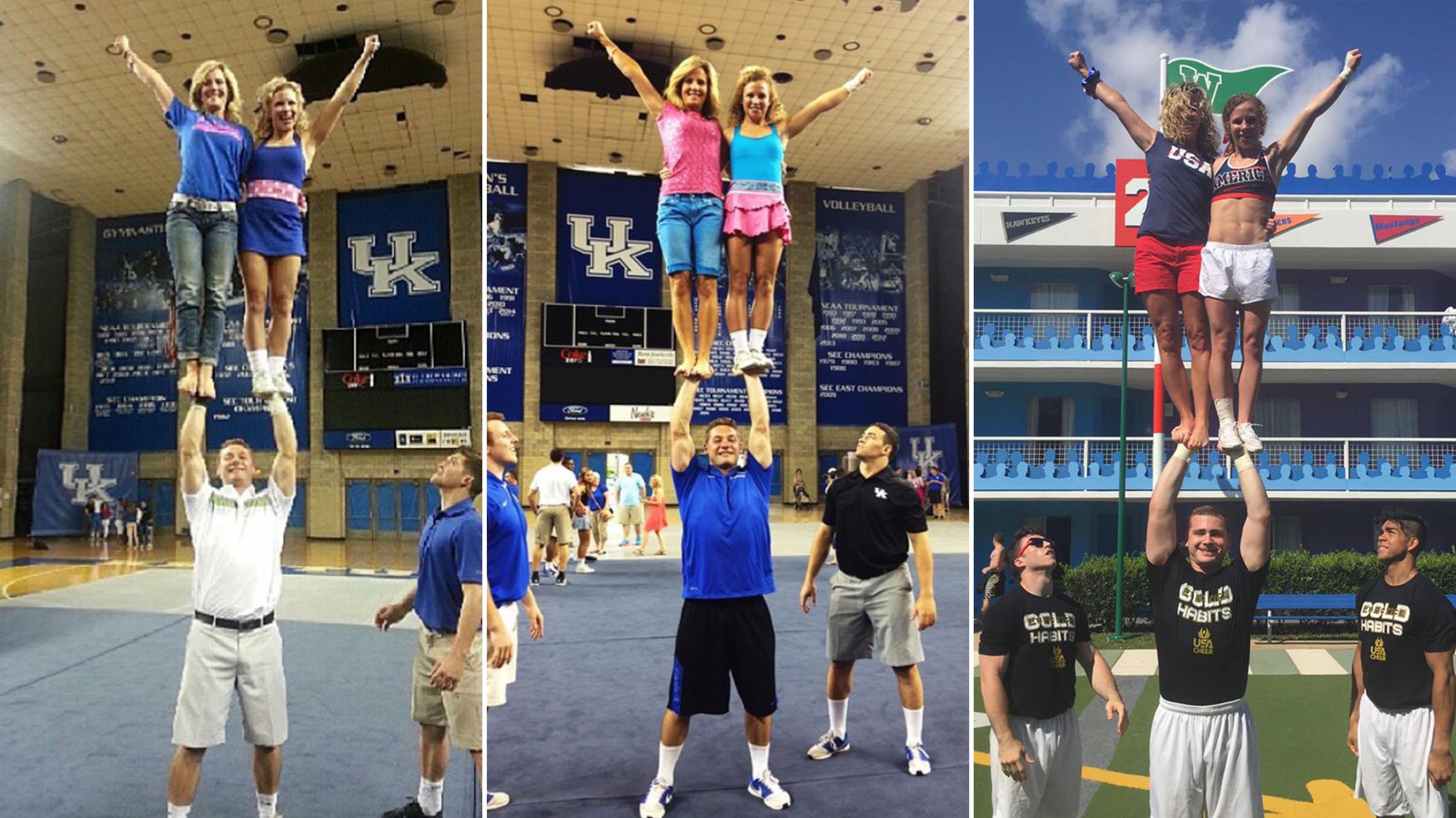 Meet University Of Kentucky Cheerleading Mother-Daughter Duo | Varsity TV