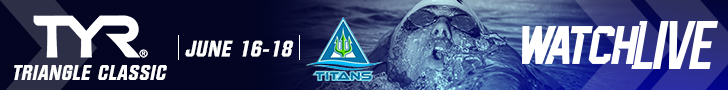 TYR Triangle Classic Watch LIVE Banner