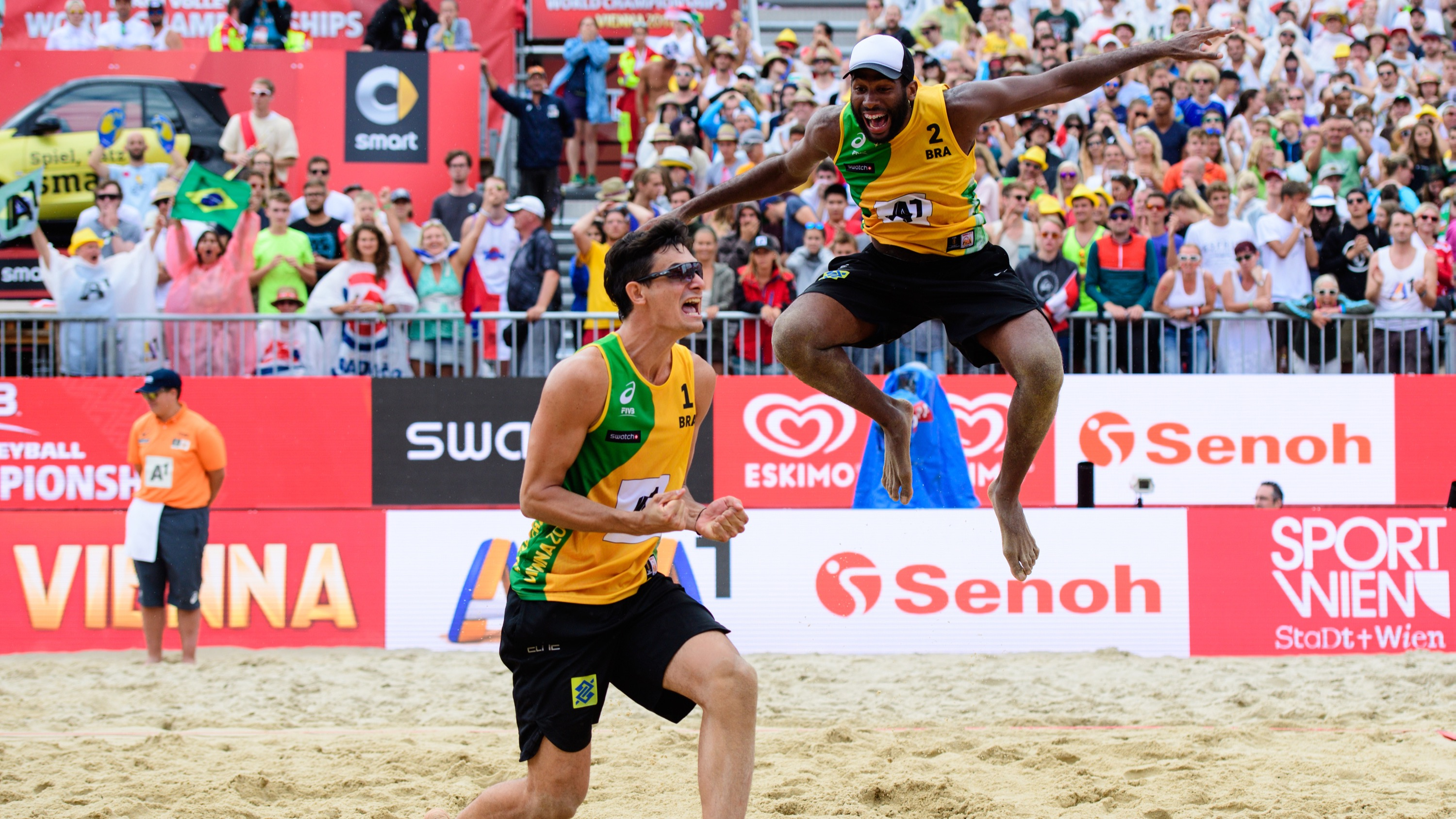 Andre Loyola Evandro Goncalves fivb world championships 2017