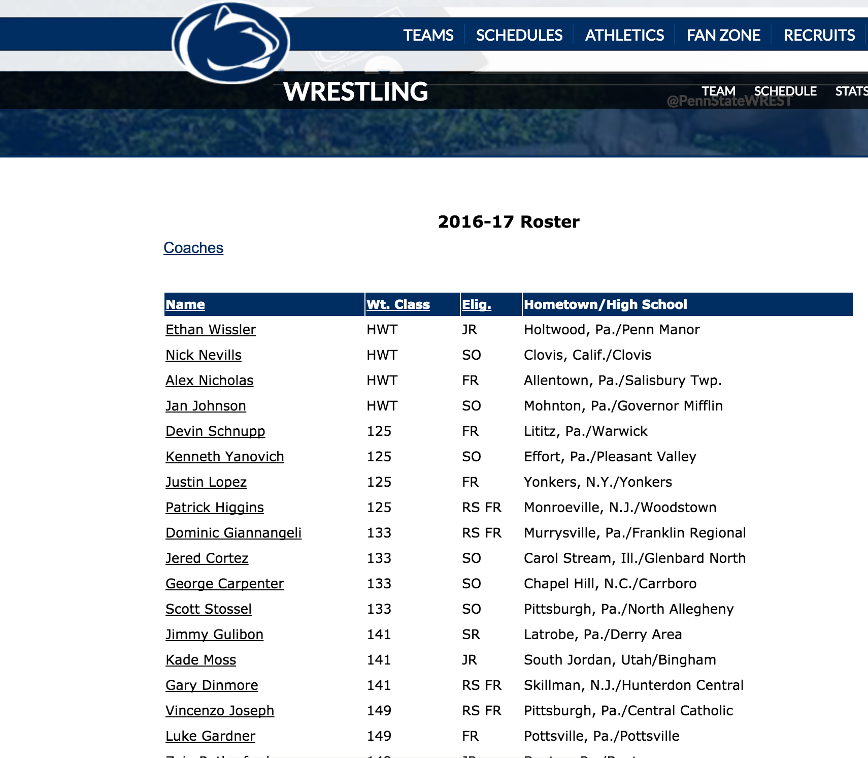 Penn State grants Nick Suriano's release