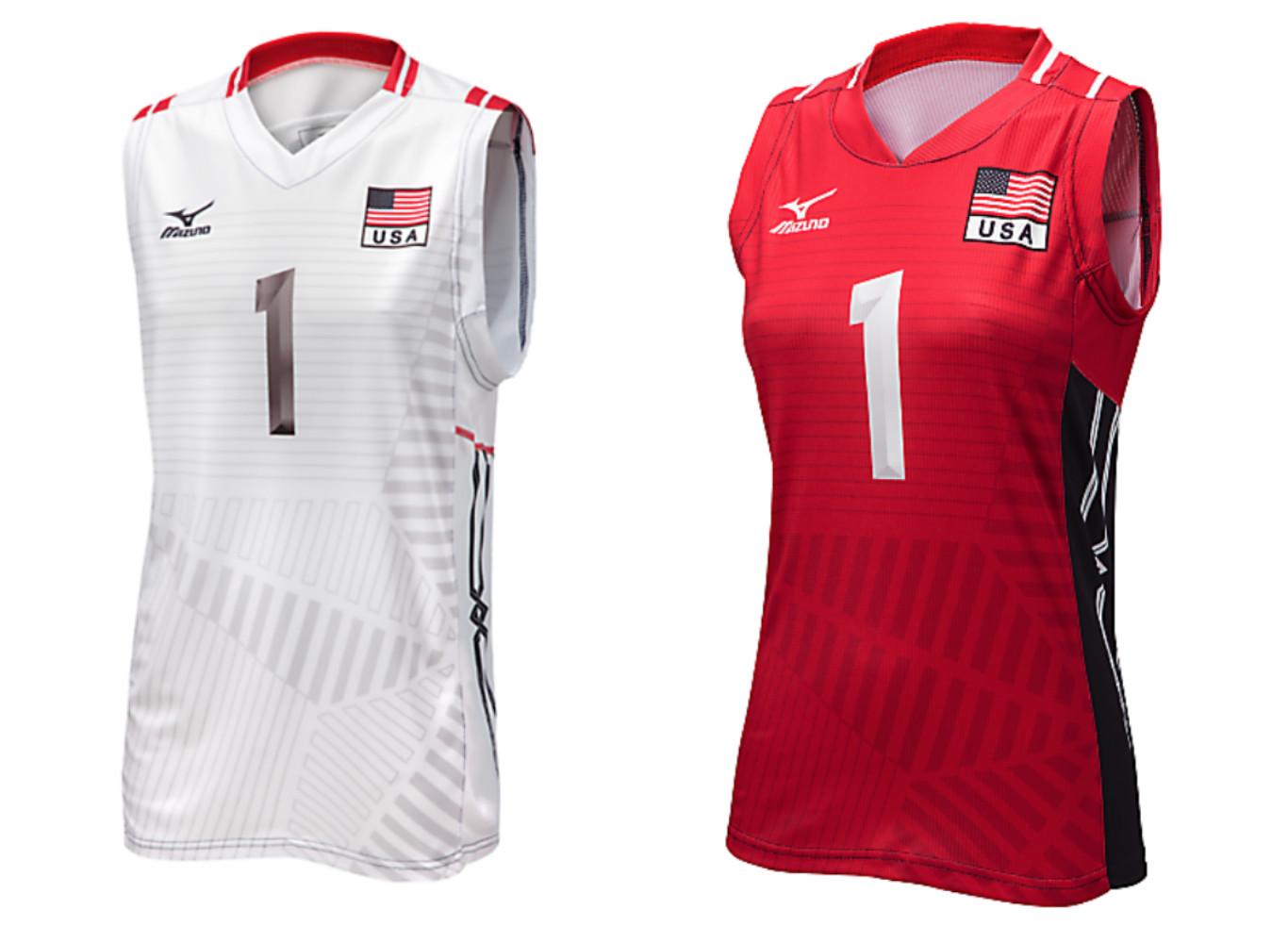 mizuno japan volleyball jersey negra