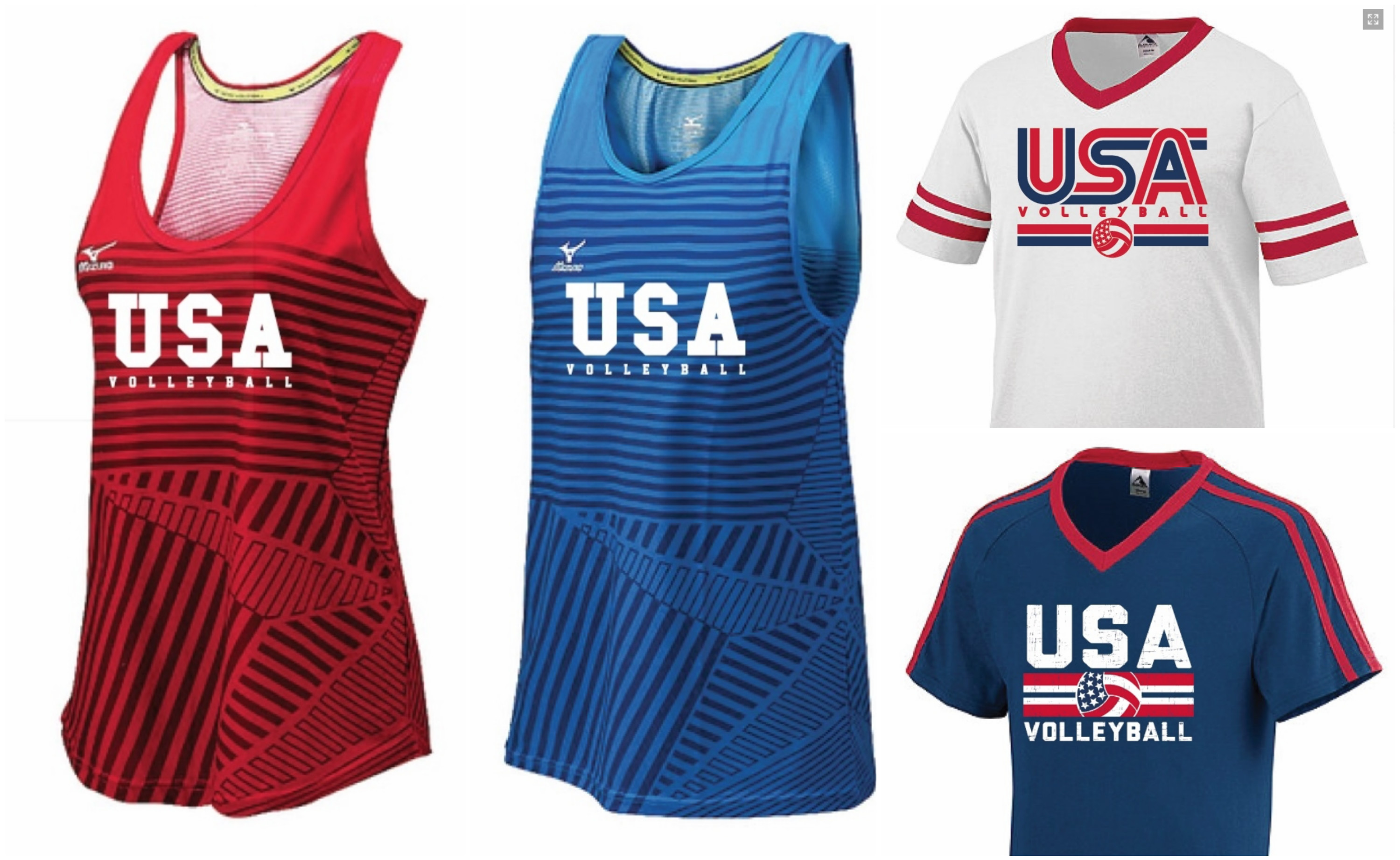 mizuno usa volleyball jersey originales