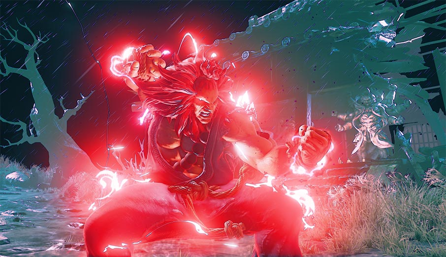 Akuma Street Fighter V Gameplay Trailer and Details