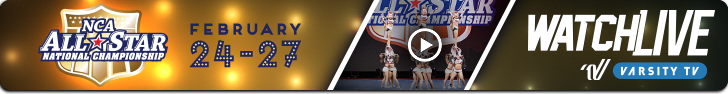 Watch Live Stream: NCA All-Star Nationals 2017