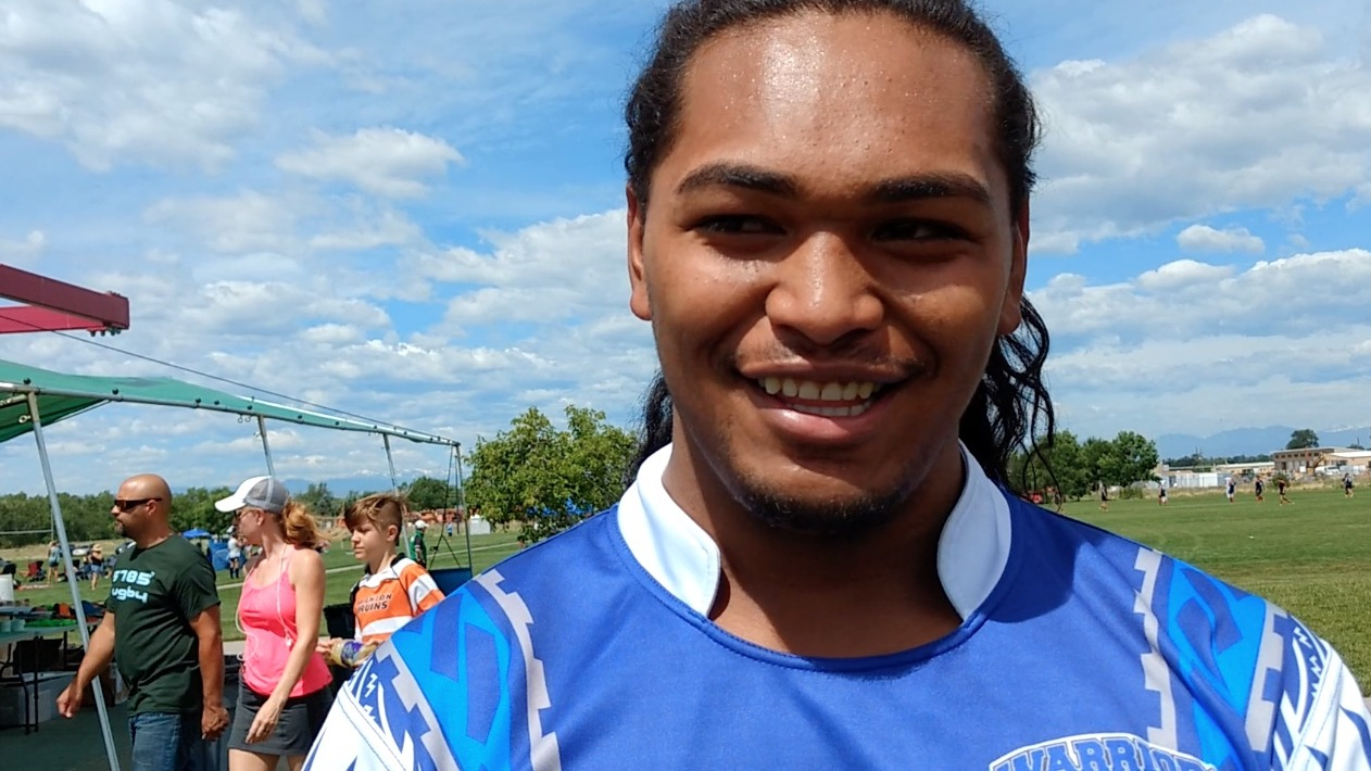 Tevita Tauvao, captain of the West Valley Warriors.