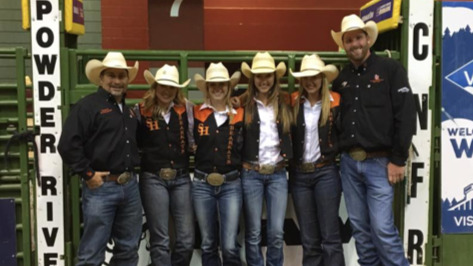 Teams Excel At College National Finals Rodeo Florodeo