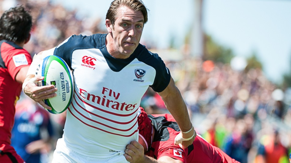 Former USA captain Chris Wyles should be with Saracens when they face the Islanders in August. David Barpal photo.