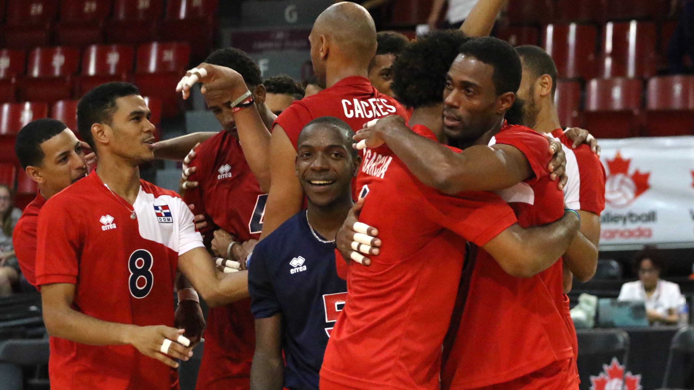 Hernandez Dominican Republic Volleyball >> Canada And USA Upset On Day Two Of NORCECA Pan-American Cup | FloVolleyball
